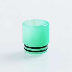 810 Replacement Drip Tip for TFV8 / TFV12 Tank / 528 Goon / Kennedy / Reload RDA - Green, Resin, 16mm