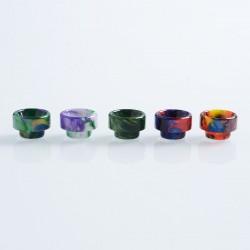 Authentic Vapjoy 810 Replacement Drip Tip Kit for 528 Goon / Goon LP / Reload RDA - Random Color, Resin, 11.6mm (5 PCS)