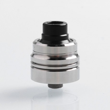 SXK Armor 2.0 Style RDA Rebuildable Dripping Atomizer w/ BF Pin - Silver, 316 Stainless Steel, 22mm Diameter
