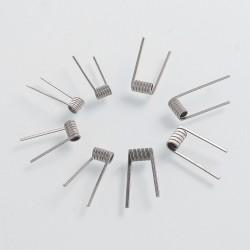 Authentic Demon Killer Wick Flame Coil Ni80 + Muscle Cotton Kit - 0.12 / 0.2 / 0.3 / 0.4 Ohm (8 PCS)