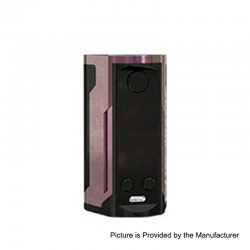 Authentic Wismec Reuleaux RX GEN3 Dual 230W TC VW Variable Wattage Box Mod - Gloss Purple Brown, 1~230W, 2 x 18650