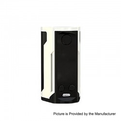 Authentic Wismec Reuleaux RX GEN3 Dual 230W TC VW Variable Wattage Box Mod - Gradient White, 1~230W, 2 x 18650