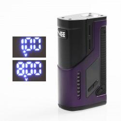 Authentic Dovpo VEE VV Variable Voltage Box Mod - Purple, Zinc Alloy, 1~8V, 2 x 18650