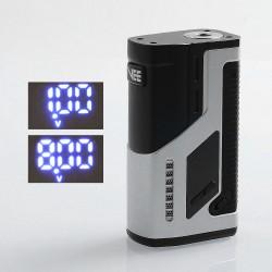 Authentic Dovpo VEE VV Variable Voltage Box Mod - Silver, Zinc Alloy, 1~8V, 2 x 18650