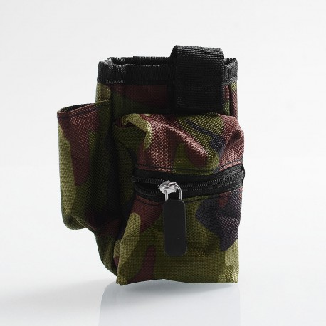 Authentic Coil Father Pbag Vape Bag for E-cigarette Mod / Atomizer / Accessory - Camouflage, 100 x 110 x 50mm