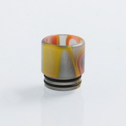 810 Replacement Drip Tip for TFV8 / TFV12 Tank / 528 Goon / Kennedy / Reload RDA - Grey, Resin, 16mm