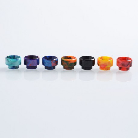 810 Replacement Drip Tip for 528 Goon / Kennedy / Reload RDA - Random Color, Resin, 12.5mm