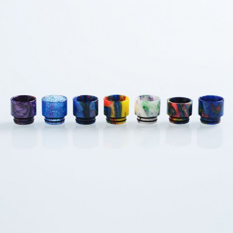 810 Replacement Drip Tip for TFV8 / TFV12 Tank / 528 Goon / Kennedy / Reload RDA - Random Color, Resin, 15mm