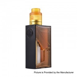 Authentic Vapor Storm Raptor 120W Squonk Mechanical Box Mod + RDA Kit - Brown, 1 x 18650 / 20700 / 21700, 5ml