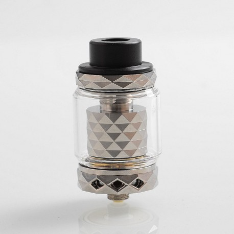 Authentic Marvec Priest RTA Rebuildable Tank Atomizer - Silver, Stainless Steel, 4.2ml, 27mm Diameter