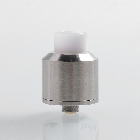 SXK NarDA Style RDA Rebuildable Dripping Atomizer w/ BF Pin - Silver, 316 Stainless Steel, 22mm Diameter