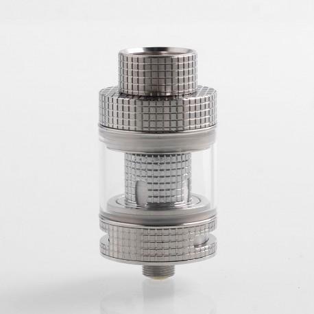 Authentic FreeMax Fireluke Mesh Sub Ohm Tank Atomizer - Silver, 0.15 Ohm, 3ml, 24mm Diameter