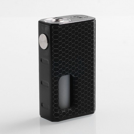 Authentic Wismec Luxotic 100W Squonk Box Mod - Black Honeycomb, 7.5ml, 1 x 18650