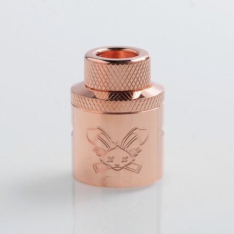 Authentic Hellvape Butcher Challenge Cap for 24mm Dead Rabbit RDA - Copper, T2 Copper