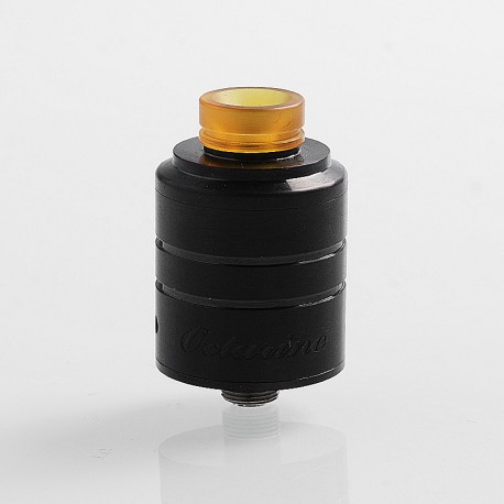 Authentic Paradigm Modz Octarine V2 RDA Rebuildable Dripping Atomizer - Black, Stainless Steel, 22mm Diameter
