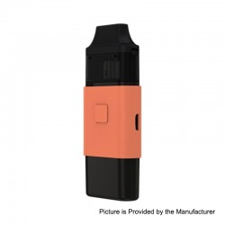 Authentic Eleaf iCard 650mAh 15W Starter Kit - Orange, 2ml, 1.2 Ohm