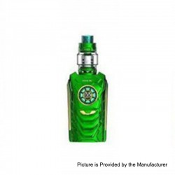 Authentic SMOKTech SMOK I-PRIV 230W TC VW Mod + TFV12 Prince Tank Kit - Green, 1~230W, 2 x 18650 / 20700 / 21700