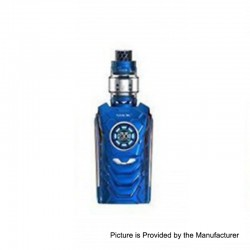 Authentic SMOKTech SMOK I-PRIV 230W TC VW Mod + TFV12 Prince Tank Kit - Prism Blue, 1~230W, 2 x 18650 / 20700 / 21700