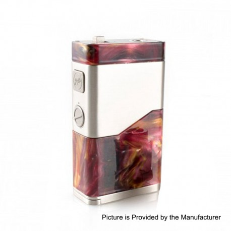 Authentic Wismec Luxotic NC 250W Box Mod - Red Resin, 2 x 18650 / 20700