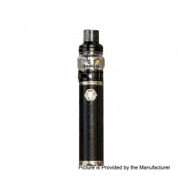 Authentic Eleaf iJust 3 80W 3000mAh Mod + ELLO Duro Tank Kit - Black, 6.5ml, 0.15 / 0.2 Ohm