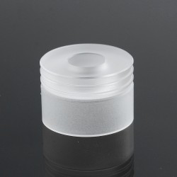 YFTK Replacement Top Cap for Short Cranked Style RDA - White, Acrylic