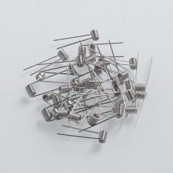 Authentic Coil Father Ni80 Pre-built Coil Heating Wire - 0.36 Ohm, 22GA (50 PCS)
