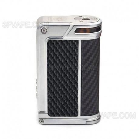Authentic Lost Vape Paranormal DNA250C 200W TC VW Box Mod - Silver + Black Rhombus + Black Grey Kevlar, 1~200W, 2 x 18650