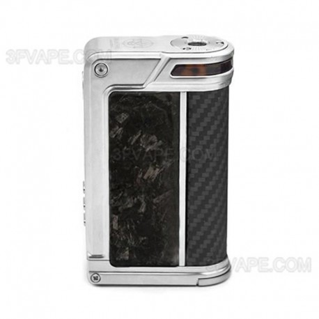 Authentic Lost Vape Paranormal DNA250C 200W TC VW Box Mod - Silver + Chopped Carbon Fiber + Pearl Fish, 1~200W, 2 x 18650