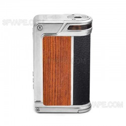 Authentic Lost Vape Paranormal DNA250C 200W TC VW Box Mod - Silver + Wood + Carbon Fiber + Pearl Fish, 1~200W, 2 x 18650