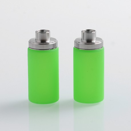 Authentic Wismec Replacement Bottom Feeder Bottle for Luxotic Squonk Box Mod / Kit - Green, Silicone, 7.5ml (2 PCS)