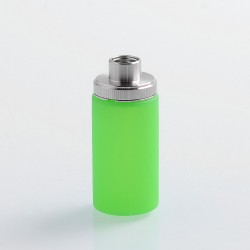 Authentic Wismec Replacement Bottom Feeder Bottle for Luxotic Squonk Box Mod - Green, Silicone, 7.5ml