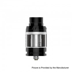 Authentic GeekVape Aero Mesh Version Sub Ohm Tank Atomizer TPD Edition - Black, Stainless Steel, 2ml, 25mm Diameter
