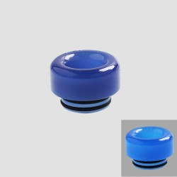 810 Color Changing Drip Tip for TFV8 / TFV12 Tank / 528 Goon / Kennedy / Reload RDA - Purple, Resin, 12mm
