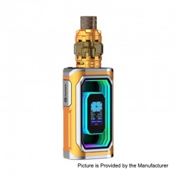Authentic ESPION Infinite 230W TC VW Box Mod + ProCore Conquer Tank Kit - Gold, 1~230W, 2 x 18650 / 21700, 5.5ml