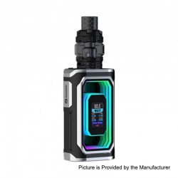 Authentic ESPION Infinite 230W TC VW Box Mod + ProCore Conquer Tank Kit - Black, 1~230W, 2 x 18650 / 21700, 5.5ml