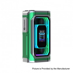 Authentic ESPION Infinite 230W TC VW Variable Wattage Box Mod - Green, 1~230W, 2 x 18650 / 21700