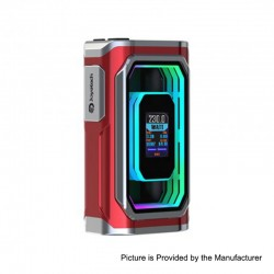 Authentic ESPION Infinite 230W TC VW Variable Wattage Box Mod - Red, 1~230W, 2 x 18650 / 21700