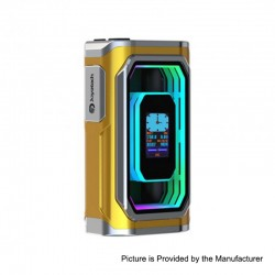 Authentic ESPION Infinite 230W TC VW Variable Wattage Box Mod - Gold, 1~230W, 2 x 18650 / 21700