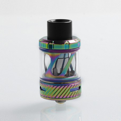 Authentic Uwell Nunchaku Sub Ohm Tank Clearomizer - Iridescent, Stainless Steel, 5ml, 25mm Diameter