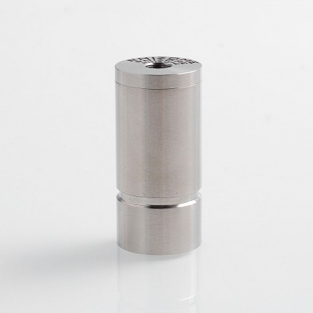 RHIZOME Style Hybrid Mechanical Mod - Silver, 316 Stainless Steel, 1 x 18350