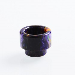 810 Replacement Drip Tip for 528 Goon / Kennedy / Reload RDA - Purple, Resin, 14mm