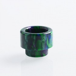 810 Replacement Drip Tip for 528 Goon / Kennedy / Reload RDA - Green, Resin, 14mm