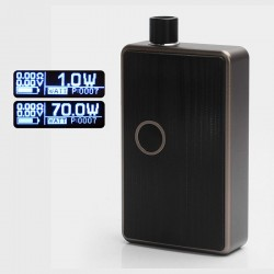 SXK BB Style 70W All-in-One Box Mod Kit - Beige, Aluminum, 1 x 18650