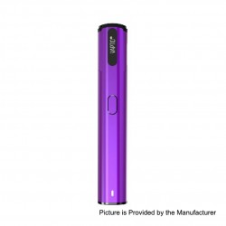 Authentic Vaptio Spin-It 650mAh All-in-One Starter Kit - Purple, 1 Ohm, 1.8ml