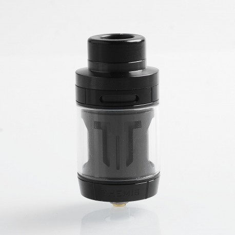 Authentic Digiflavor Themis RTA Rebuildable Tank Atomizer Dual Coil TPD Version - Black, Stainless Steel, 2ml, 27mm Diameter