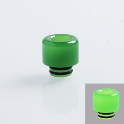510 Color Changing Drip Tip for RDA / RTA / Sub Ohm Tank Atomizer - Green, Resin, 14mm
