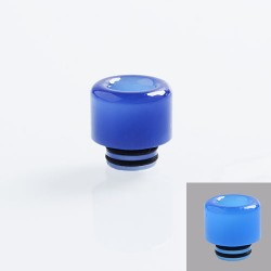 510 Color Changing Drip Tip for RDA / RTA / Sub Ohm Tank Atomizer - Purple, Resin, 14mm
