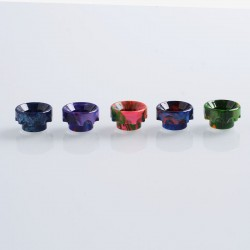810 Replacement Drip Tip for Battle / 528 Goon / Kennedy / Reload RDA - Random Color, Resin, 11mm