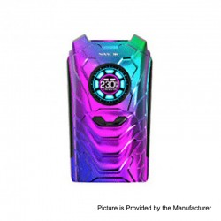 Authentic SMOKTech SMOK I-PRIV 230W TC VW Variable Wattage Box Mod - Prism Rainbow, 1~230W, 2 x 18650 / 20700 / 21700