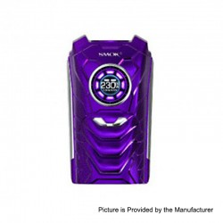 Authentic SMOKTech SMOK I-PRIV 230W TC VW Variable Wattage Box Mod - Purple, 1~230W, 2 x 18650 / 20700 / 21700